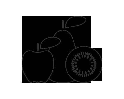 Kiwiny: selezione frutti