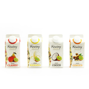 Quattro succhi Kiwiny